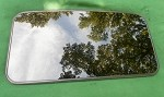 2000 HYUNDAI XG350 SUNROOF GLASS 81610-39000, 8161039000